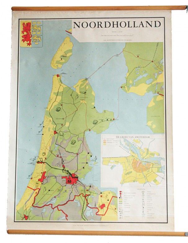 Noord-Holland schoolkaart