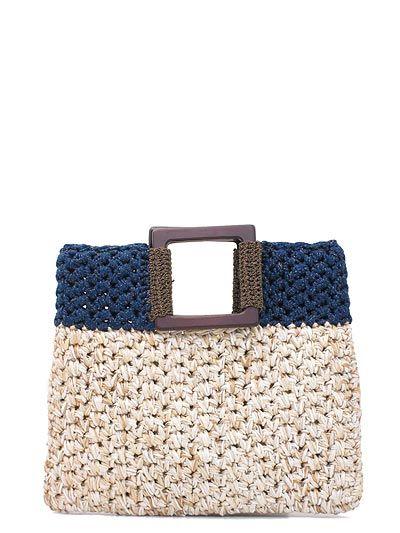 Bolso en ganchillo de Lorenza Gandaglia - Lorenza Gandaglia crochet bag