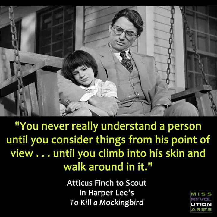 a deeper insight on the character atticus in to kill a mockingbird Atticus finch, the southern lawyer, widower and father of two so beautifully brought to life by gregory peck in robert mulligan's adaptation of harper lee's to kill a mockingbird, turned my.