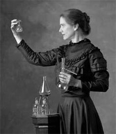 Marie Curie - Winner of the Nobel Prize in Physics and in Chemistry [1903 and 1911 respectively],