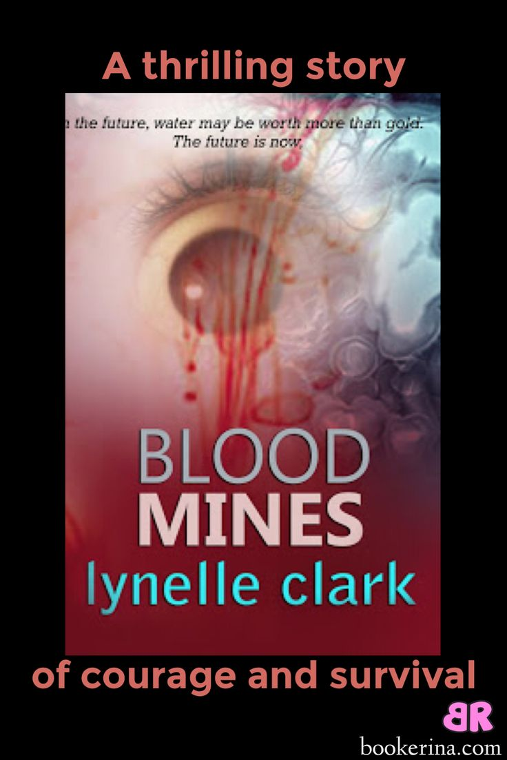 Blood Mines by Lynelle Clark book review on bookerina.com