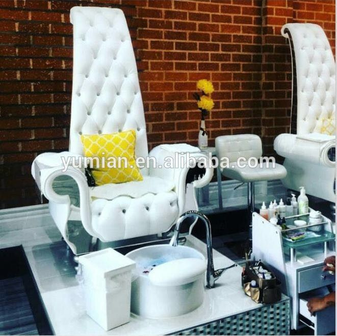Hot sale luxury throne pedicure chair type spa pedicure chair
