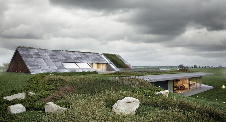 Green Line / Mobius Architekci – nowoczesna STODOŁA | wnętrza & DESIGN | projekty DOMÓW | dom STODOŁA