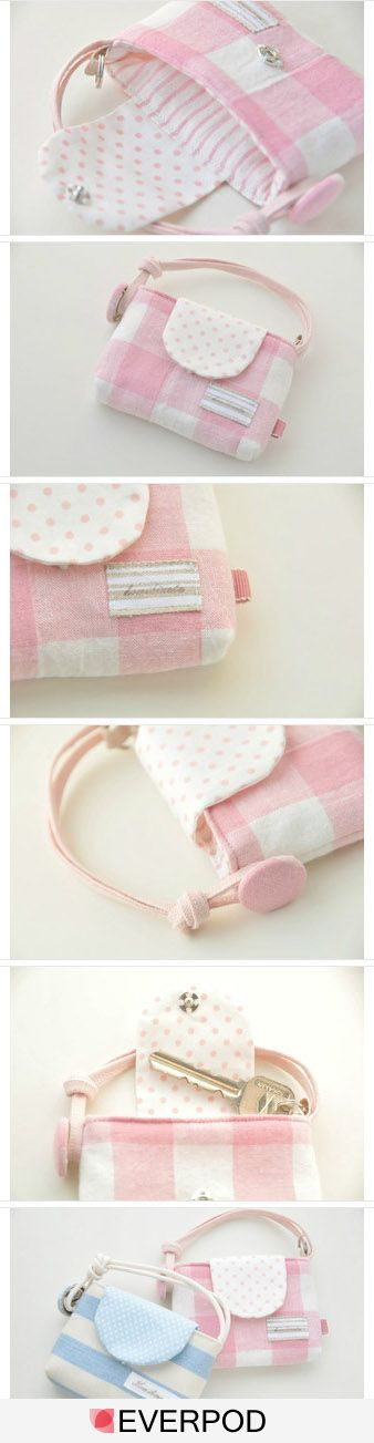 would make a cute, little girl purse too!