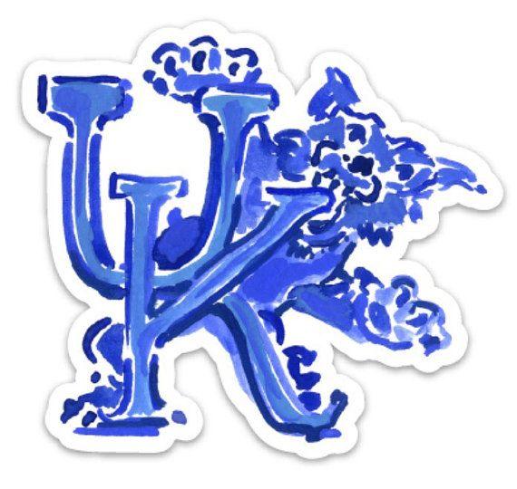 University of Kentucky car decal/laptop/wall/ by SouthUpperStreet UK decal
