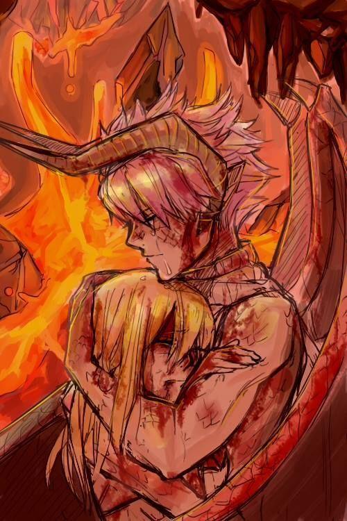 Even as a demon/dragon Natsu can still love