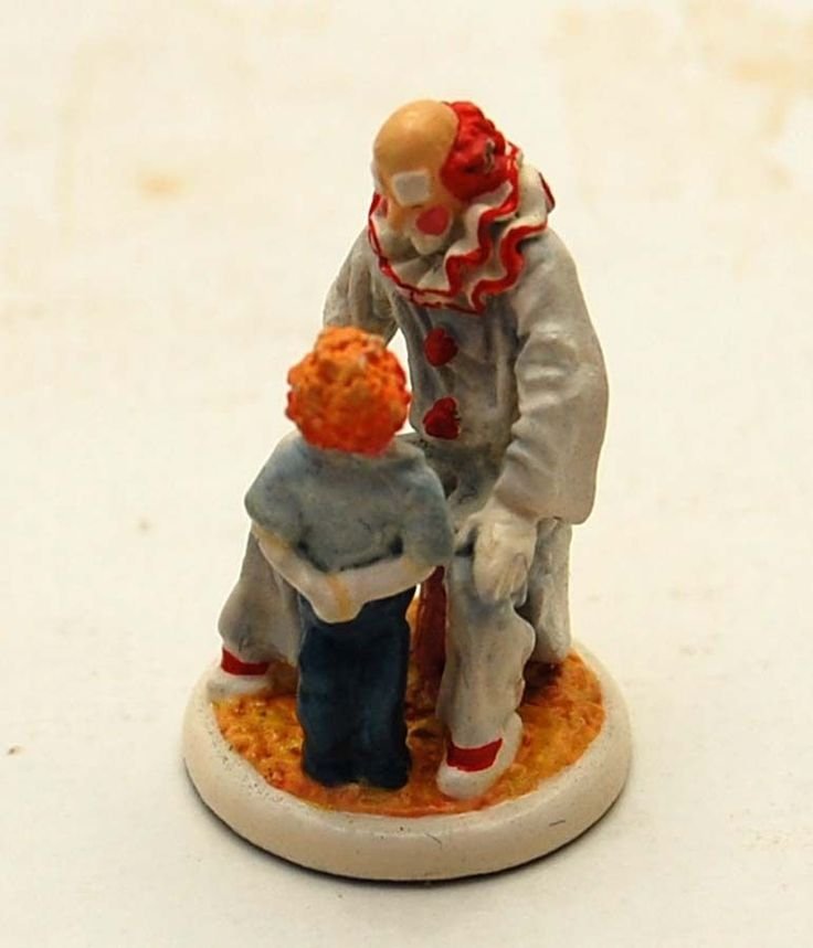 Goebel Olszewski Miniatures Clown Figurine w Box Playroom Children Dollhouse | eBay