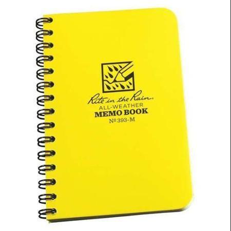 "RITE IN THE RAIN 393-M Spiral NotebookJournal503-1/4 x 5""   nursing ..."