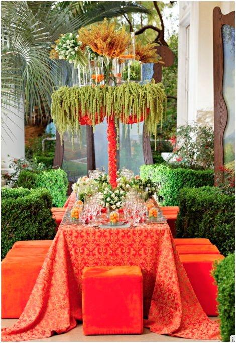 Tablescape ● Orange Tropical