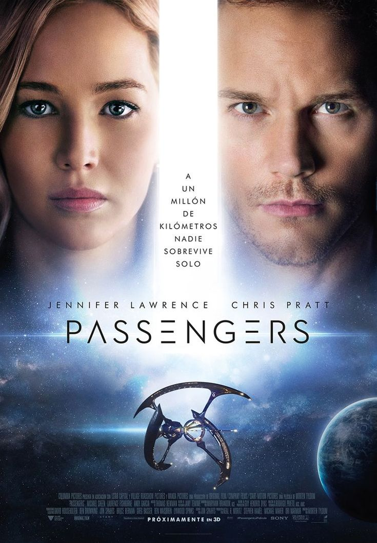 Passengers. Estreno 30 de diciembre en CineZona. CC Zona Este. Cines en Sevilla