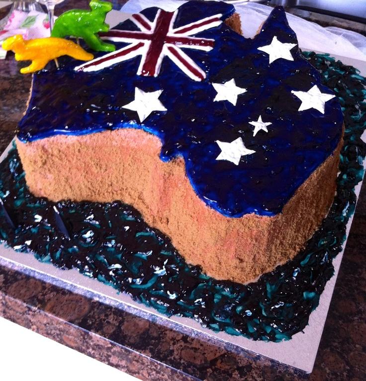 - Australia Day Cake