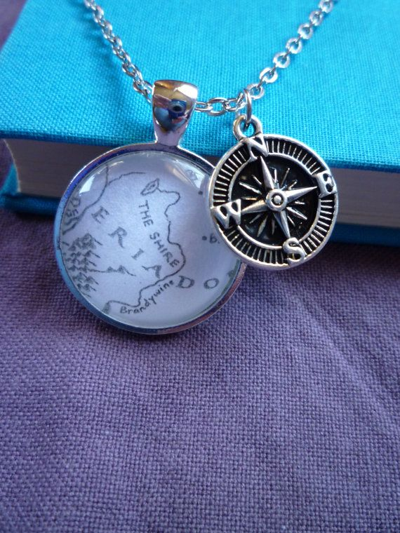 Lord of the Rings Map Jewelry The Shire The by StorybookWhimsies, $20.00 DIY with kids birth cities?