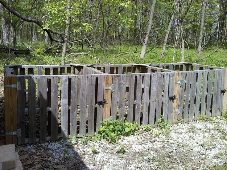 pallet compost bin instructions