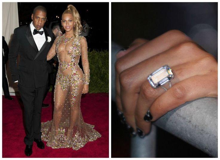 Pierścionek zaręczynowy Beyoncé