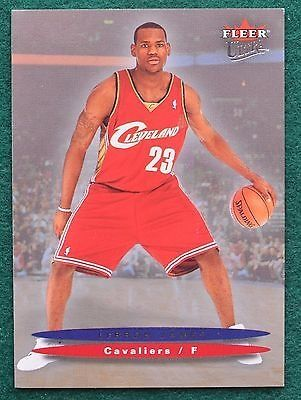 awesome LeBron James rookie card - 2004 Ultra Cleveland Cavaliers MVP RC - For Sale View more at http://shipperscentral.com/wp/product/lebron-james-rookie-card-2004-ultra-cleveland-cavaliers-mvp-rc-for-sale/