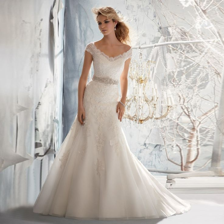 Fashionably Yours - Belinda Delicate Alencon Lace on Net Bridal Dress By Mori Lee, Contact us for pricing on 02-9487 4888 (http://fashionably-yours.com.au/belinda-delicate-alencon-lace-on-net-bridal-dress-by-mori-lee/)