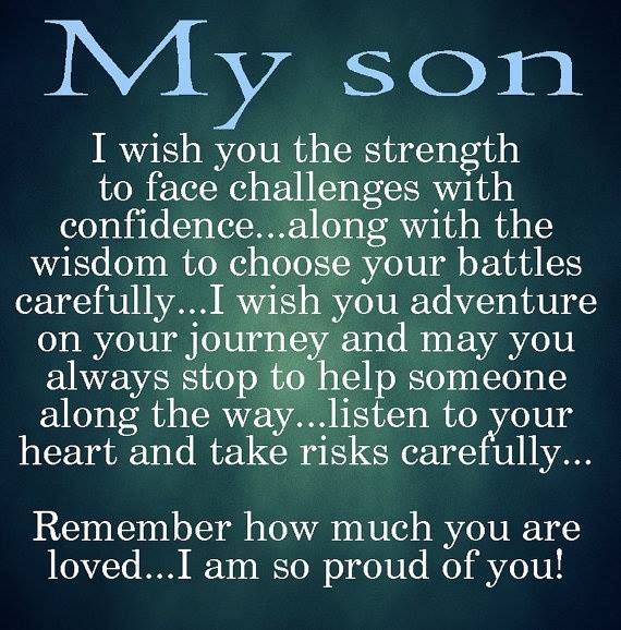 I Love My Son Quotes And Sayings Enchanting Best 25 Love My Son Quotes Ideas On Pinterest  I Love My Son