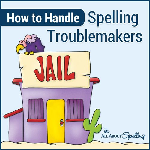 How to Handle Spelling Troublemakers - Get FOUR tips now from All About Spelling!