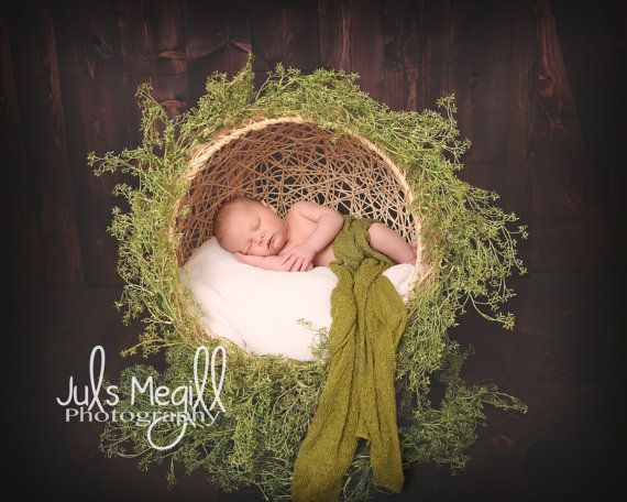 Newborn poser photo prop natural globe to by customphotoprops