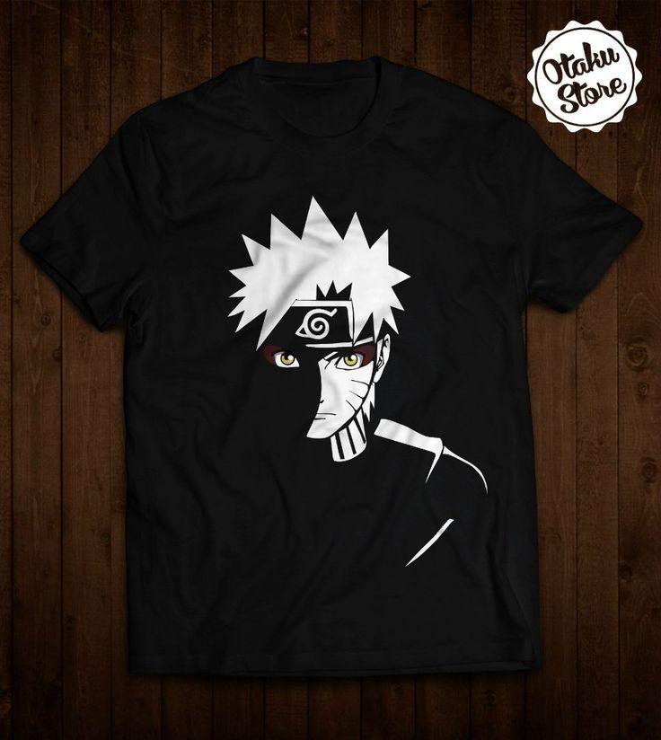 """Anime """"Naruto"""" t-shirt. Anime DTG print."""