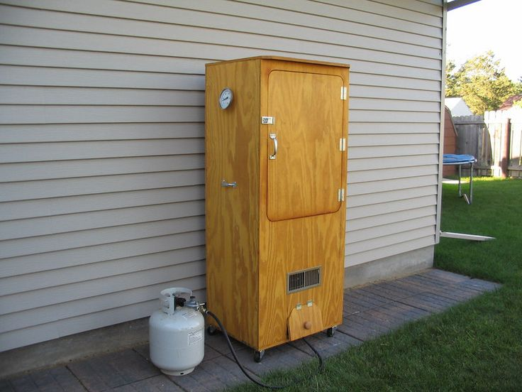 how to build a smoker i plan on building a few of these - Meat Smokehouse Plans