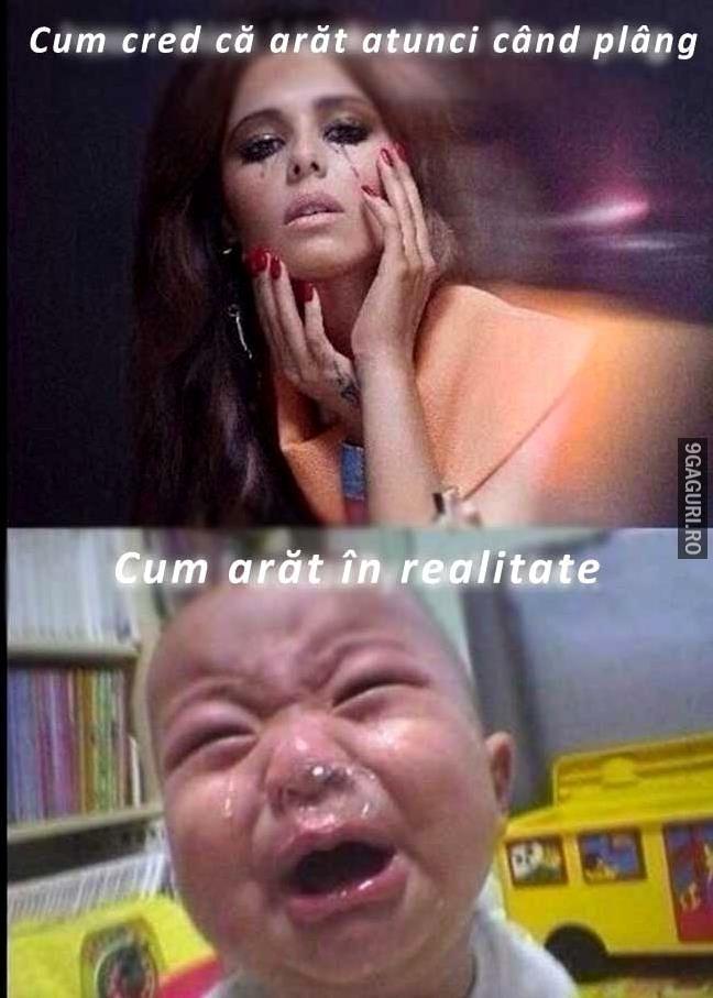 Cum arăt când plâng   Link Postare ➡ http://9gaguri.ro/media/cum-arat-cand-plang