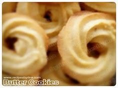 Danish Butter Cookies, Resep Biskuit Monde Rumahan ~ Recipes By Rina Laurence