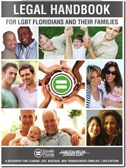 'Legal Handbook for LGBT Floridians and Families' released by Equality Florida, law firm Carlton Fields