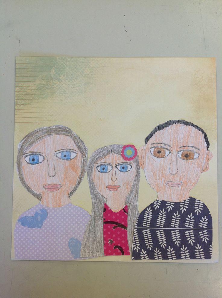 Year 5 Family portraits
