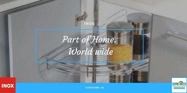INOX Decor Kitchen and Wardrobe Ensembles  #inox #inoxaccessories