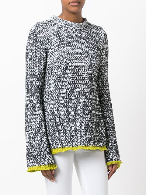 Joseph marl knitted jumper
