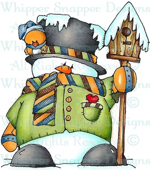 Sanchez - Snowmen Images - Snowmen - Rubber Stamps - Shop