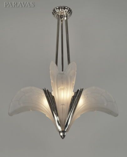 EJG-1930-FRENCH-ART-DECO-CHANDELIER-bronze-lamp-lampe-muller-era-degue