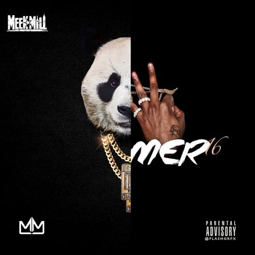 """Meek Mill decides to give fans two new remixes as he hops on Drake's """"Summer Sixteen"""" and Desiiner's """"Panda"""". Listen to the music on page 2."""