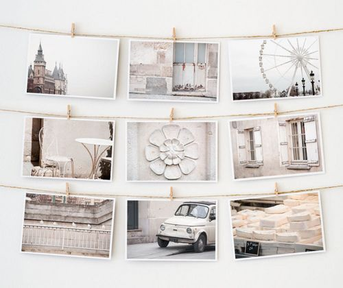 <3Ideas, Postcards, Display Photos, Colors Tone, Dorm Room, Pictures Display, Inspiration Boards, Bedrooms Projects, White Wall