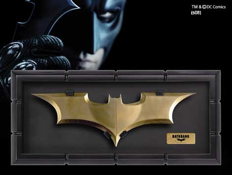 The BATARANG    £56    The Noble Collection
