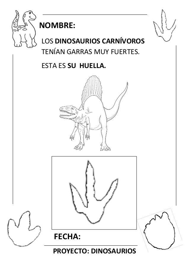 Proyecto Completo Dinosaurios Programacion Fichas Recursos Pdf Dinosaur Theme Preschool Dinosaurs Preschool Preschool Theme