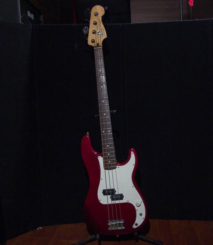 1999 Fender Precision Bass - Burgandy - Mexico MN8142972