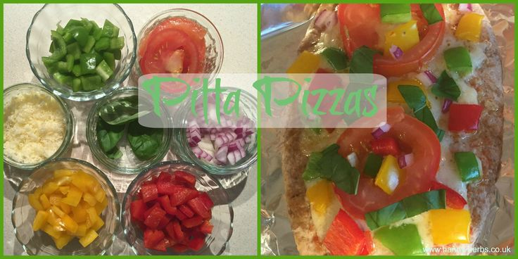 Pitta Pizzas are perfect for children to help make. They can choose from a selection of healthy toppings which is a good way to encourage your child to eat a range of vegetables.