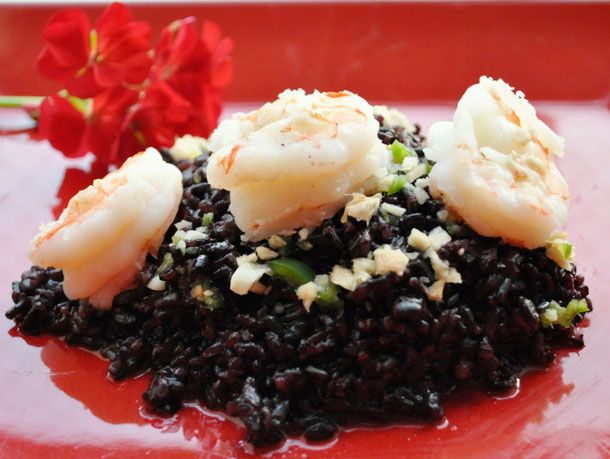 Forbidden Rice with Shrimp | Serious Eats : Recipes