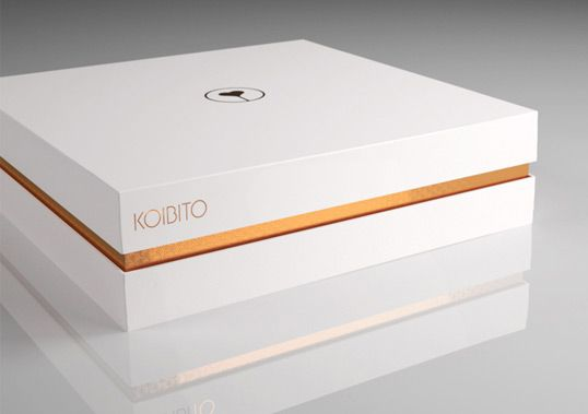"Luxury Sex Toys Packaging- ""Koibito"" means true love in japanese"