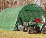 Canopy for riding lawnmower and bikes. Lowes has small ones.