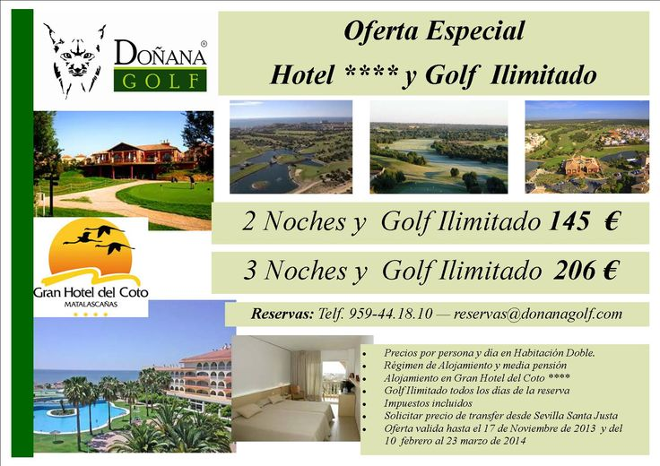 Oferta Golf y Alojamiento