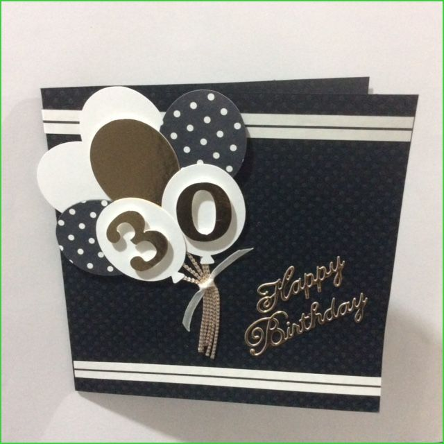 Diy 30th Birthday Card Online Design Cards For