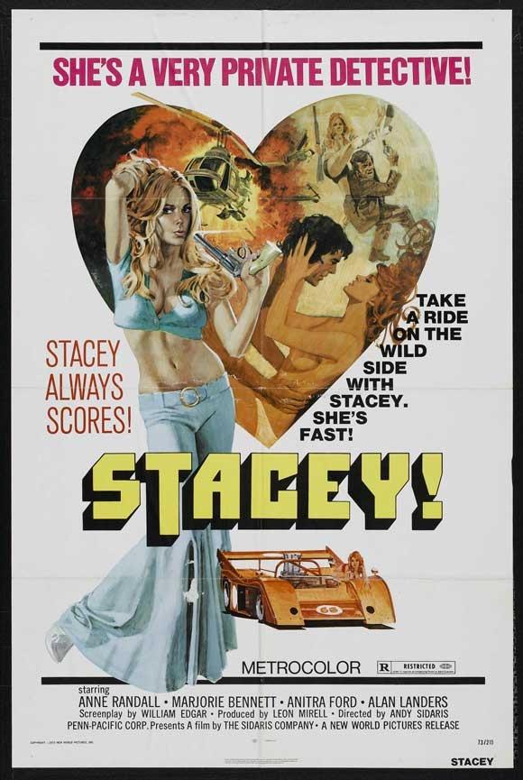 Stacey, 1973. Sexploitation movie.