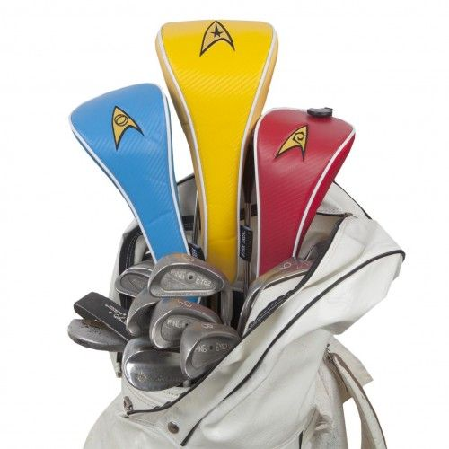 Star Trek Uniform Golf Club Covers [Set of 3] | Shop By Category | Collectibles | Sports Gear | Star Trek Store