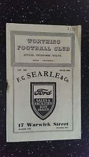 WORTHING V HASTINGS UNITED 1952-53