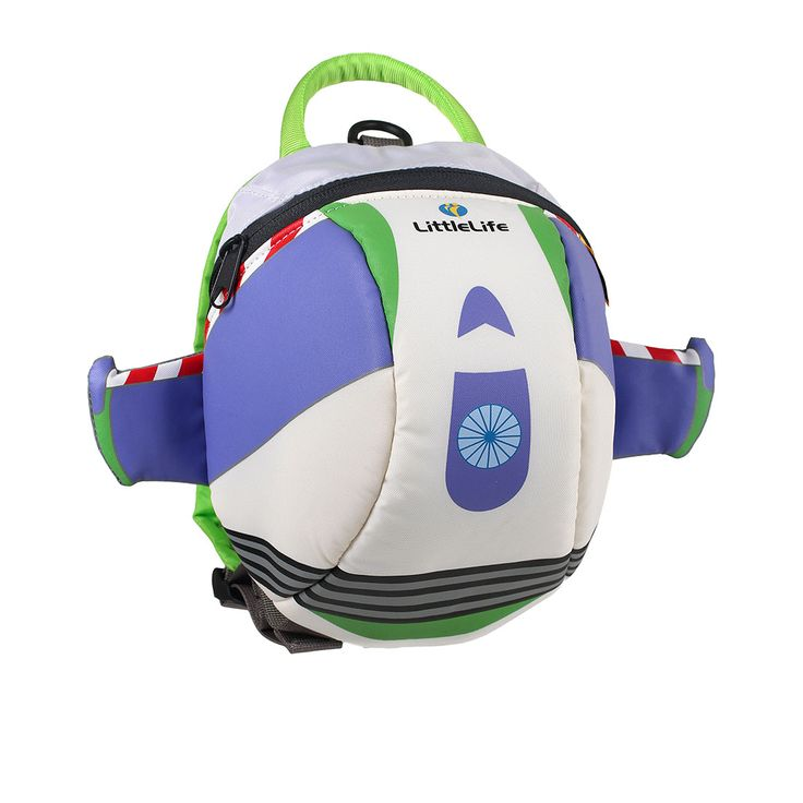 The Buzz Lightyear Backpack with rein is for toddlers who like adventure and parents who want to keep hold of them.