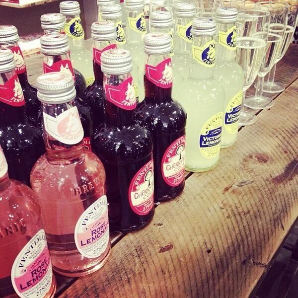Love Fentimans bottles