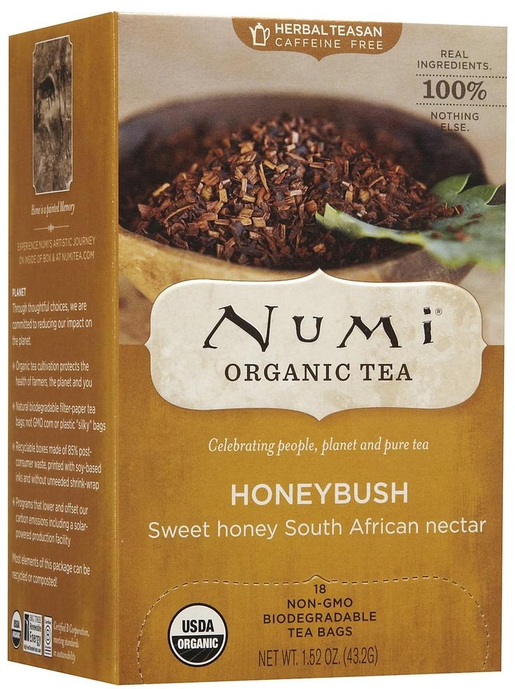 Numi honeybush tea